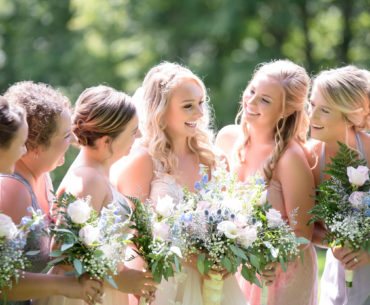 Matching Bridesmaid Dresses to Bridal Gown