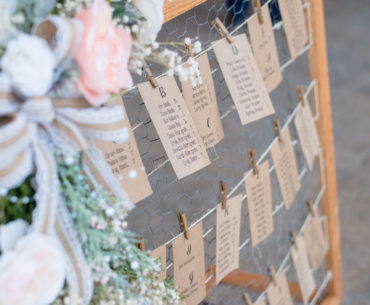 10 Tips for Creating A Wedding Seating Plan