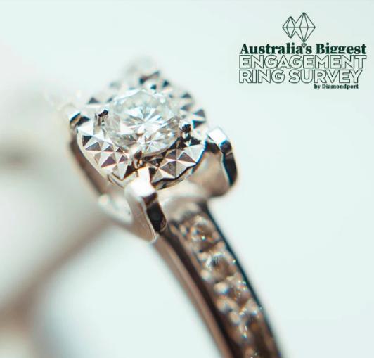 engagement ring survey
